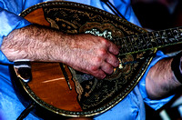 Hand of Kostas Kastanis Playing The Bouzouki
