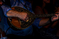 Bouzouki Being Played By Kostas Kastanis
