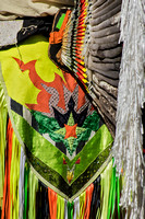 Colorful Native Regalia