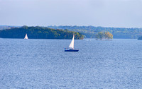 Getting lost sailing on waters Percy Priest Lake