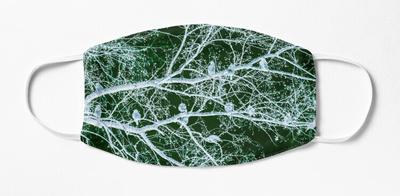 cedar waxwing green,wide_portrait,750x1000.u1