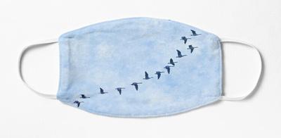 geese in flight blue,wide_portrait,750x1000.u1