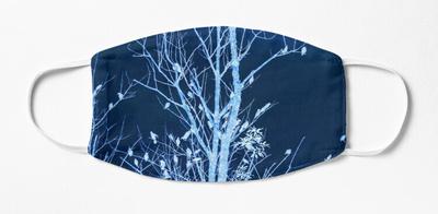 xray effect tree filled birds,wide_portrait,750x1000