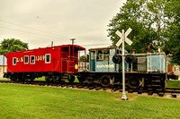 L&N 1369 Train Car and Koppers engine Guthrie KY