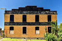 Long abandoned brick building