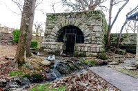Springhouse With Goose In Front Woodlawn Cemetery Nashville TN