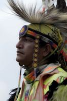 Classic Native American dancer Mount Juliet Powwow
