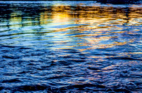 Ripples and reflections in Harpeth River