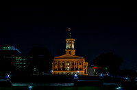 Nighttime view of Tennessee State Capitol