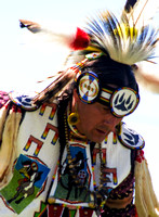 Dancer With Beaded Bear Claw