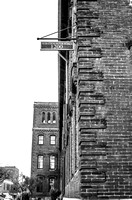 Marathon Motor Works building Nashville TN black and white
