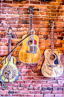 Three Guitars Antique Archaeology