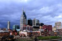 The Music City Nashville Skyline