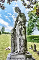 Lady Of The Elegance Riverview Cemetery