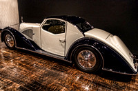 1934 Voisin Type C27 Aerosport Coupe Navy Blue Hard Top