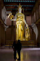 Athena Of The South Parthenon Centennial Park Nashville TN