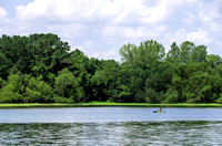 Kayaking On Waters of Couchville Lake