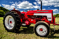 International Tractor at The Scottsboro-Jordonia Antique Tractor and Car Show