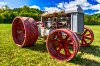 Rustic Antique Tractor at The Scottsboro-Jordonia Antique Tractor and Car Show