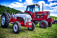 Antique and Newer Tractors at The Scottsboro-Jordonia Antique Tractor and Car Show