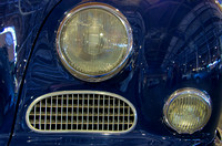 Headlights of a BMW 3200S- 1963