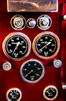 Gauges on a Firetruck