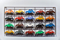 Collection of Small VW Beetles