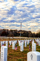 American Flag Still Middle Tennessee Veterans Cemetery