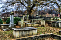 Nashville City Cemetery Wintertime