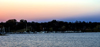 Dusk On The Waters Of Percy Priest Lake Nashville TN