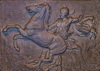 Horse And Equestrian Stone Tablet Parthenon Nashville TN