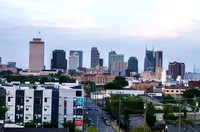 A special of view of Music City Skyline