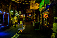 Printers Alley at night Music City