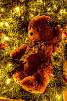 Brown Teddy Bear On XMas Tree Country Christmas Nashville TN
