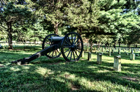 Cannon in the Stones River National Cemetery