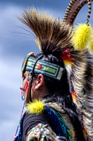 Beaded head band Mount Juliet Powwow