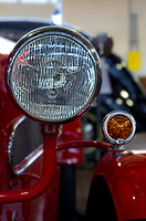 Headlight on a 1929 BMW IHLE 600
