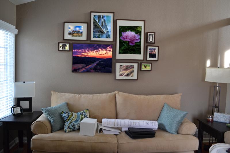 Eclectic framed prints