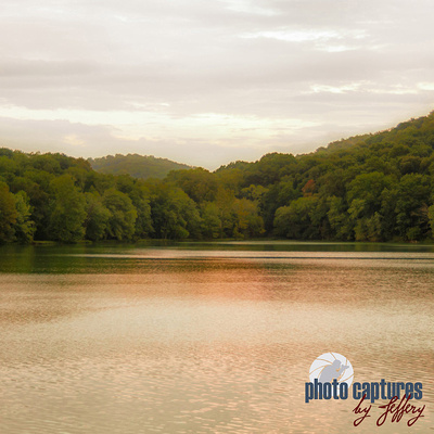Warm calming waters of Radnor Lake Nashville TN square