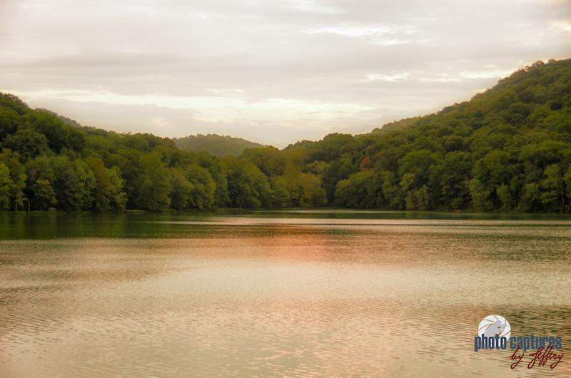Warm calming waters of Radnor Lake Nashville TN