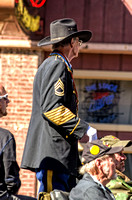 Standing Tall Wearing Cavalry Hat At Veterans Day Parade Nashville TN