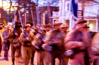 Hauntings of Civil War Soldiers marching on past