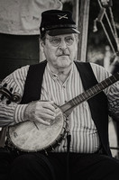Banjo Playing Man Tennessee History Festival