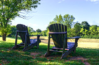 Two Adirondack Chairs Leipers Fork