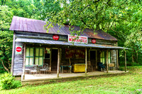Old historic general store Spencer Mill Burns TN
