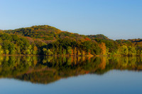 Still waters of Radnor Lake October Nashville TN