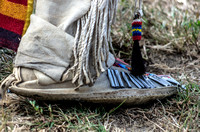 Moccasin covered foot Mount Juliet Powwow