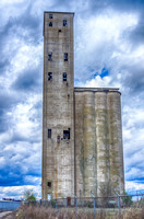 Side View of The Nations Silo