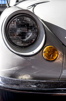 Headlight of 1970 Subaru 360 Sedan