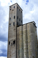 Old Historic 1910-1920 Grain Silo